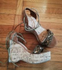 Plutene cipele na punu petu - NOVO