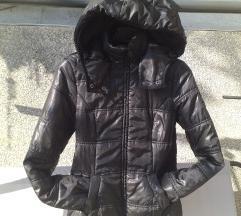 CLOCKHOUSE slatka sjajna crna jakna