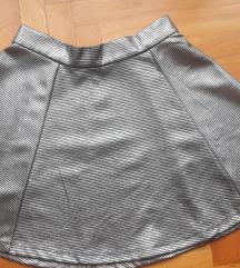 Čvrsta metalizirana suknja