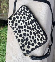 Kozna torbica sa ponijevom dlakom
