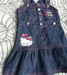 Hello Kitty jeans haljina
