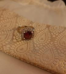 Argentum srebrni prsten s cirkonima