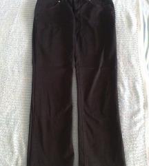 Crne ravne hlače AMDS