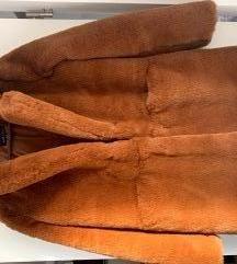 Smeđa bunda - teddy kaput PRODANO
