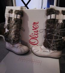 s'Oliver zimske čizme s krznom