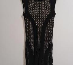 Guess haljinica crna s podstavom
