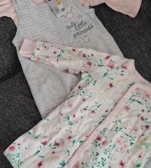 Lot dvije pidžamice nove 68/74