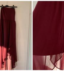 Bordo haljina S-M