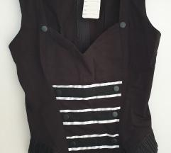 Goth military top