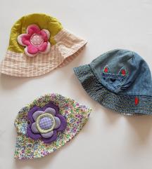Ljetni šeširići vel.3- 6 god