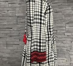 SNIŽENO Karirana haljina