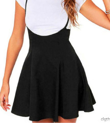 FashionNova suknja sa naramenicama