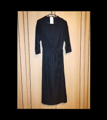 MANGO nova plisirana midi haljina