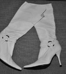 Bijele kozne cizme