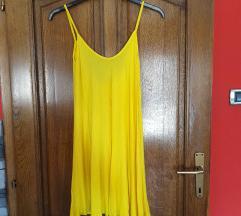 Žuta ljetna haljina