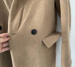 Zara krem kaput
