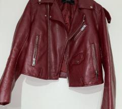 Kožna jakna Zara 38