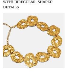 Zara ogrlica + sunčane naočale gratis