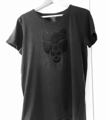 Zara Man crna majica kratkih rukava😍