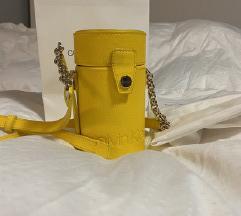 Calvin Klein originalna žuta torba