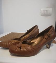 Ženske cipele kožne salonke