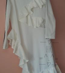 Adidas x J Koo ruffle dress