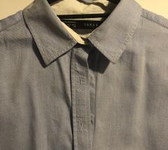 Zara basic plava kosulja