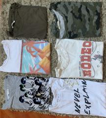 Lot Zara pamučnih majica S/M s uklj pt