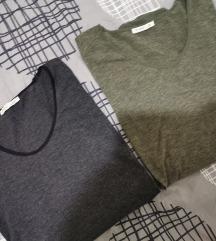 LOT Zara majice bluze
