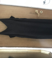 HM slip crna haljina XL