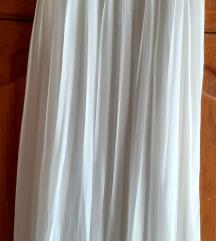 Duga plisir suknja