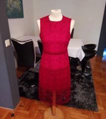 Sniženo - Zara čipkasta haljina, vel. S, 150 kn