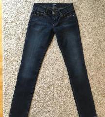 Seven jeans tamne traperice W28
