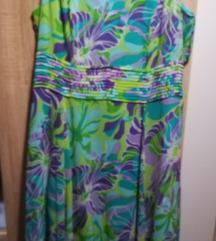 NOVA Šarena haljina 50 vel + marama
