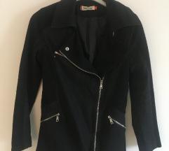 Crna biker jakna vel S