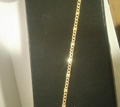 Narukvica zlatna NOVO 585 snizeno