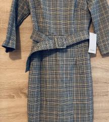 Zara nova haljina sa pojasom