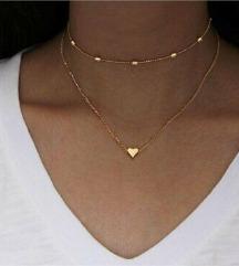 Moderna 2 u 1 ogrlica