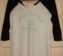Hollister crno bijela majica M