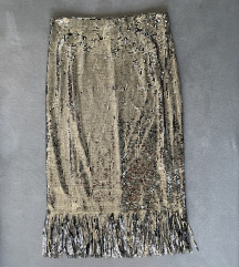 Zara sequin suknja