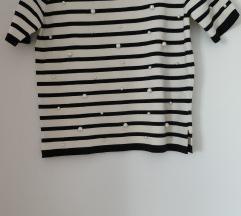 ZARA knit nova majica s perlama %70 kn%