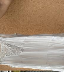 Bijela ljetna haljina M veličine - NOVO