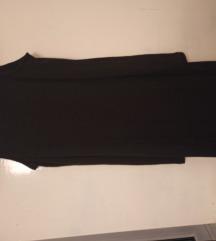 Mala crna rebrasta haljina