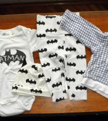Lot za bebe dečke 50-68 8 kom. + pokloni
