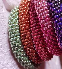 narukvice od perlica, seed bead crochet