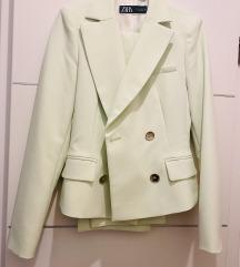 Zara odijelo zelenkasto S