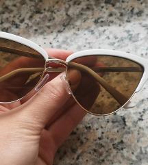 Mango cateye bijele naočale