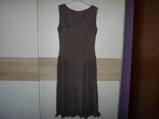 TEO PERIĆ krasna dizajnerska haljina vel.38