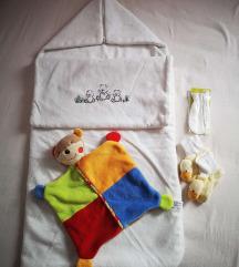 Vreća / jastuk / dekica i tješilica za bebu