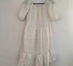 Bijela crochet haljina